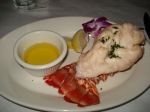 Carribean Lobster Tail with Drawn Butter