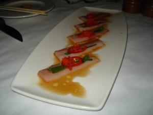 Hamachi - Ponzu Sauce